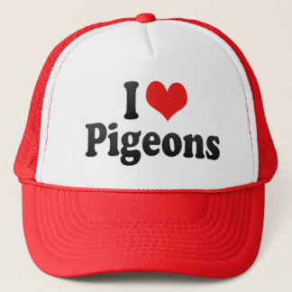I Love Pigeons Trucker Hat
