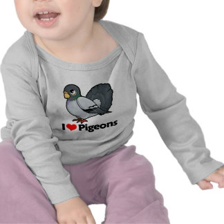 I Love Pigeons Shirts