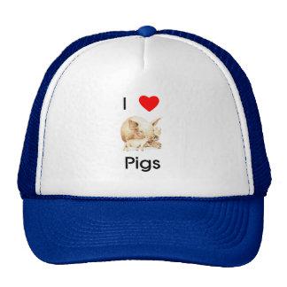 I love pigs Hat