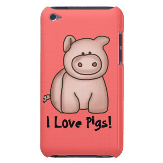 I Love Pigs iPod Case