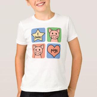 I Love Pigs Shirts