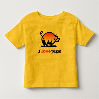 I love Pigs! Tee Shirts