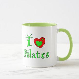 I Love Pilates - Custom Coffee Mugs