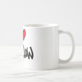 I love Pillow Basic White Mug