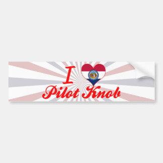 I Love Pilot+Knob, Missouri Bumper Sticker