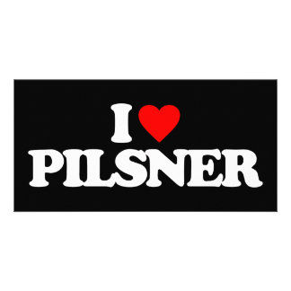I LOVE PILSNER PHOTO CARD TEMPLATE