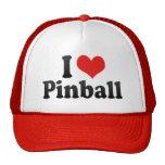 I Love Pinball Cap