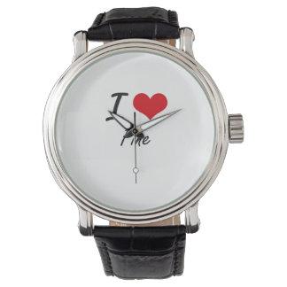 I Love Pine Wristwatch