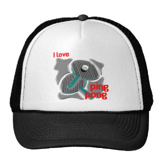 I Love Ping Pong Loving the Ping Pong Trucker Hat