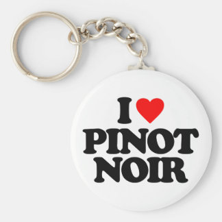 I LOVE PINOT NOIR KEYCHAINS