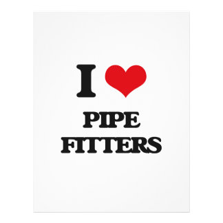 I love Pipe Fitters Flyer Design