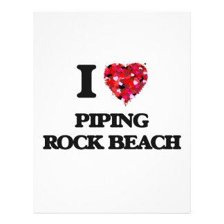I love Piping Rock Beach New York 21.5 Cm X 28 Cm Flyer