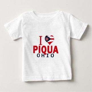 I love Piqua, Ohio Baby T-Shirt
