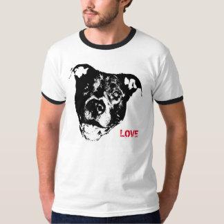 I Love Pitbulls Logo Design - Cool Trendy & Hip Shirt