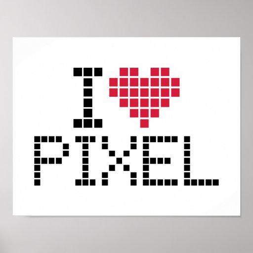 I love pixel print