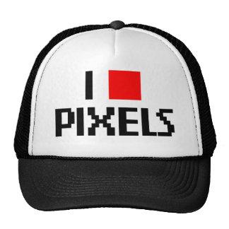 I Love Pixels Hat
