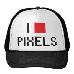 I LOVE PIXELS HATS