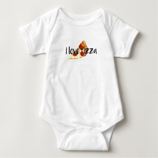 I love Pizza Baby Bodysuit
