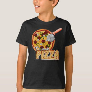 I Love Pizza - Basic Dark T-Shirt