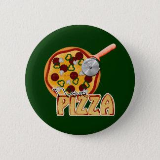I Love Pizza - Button