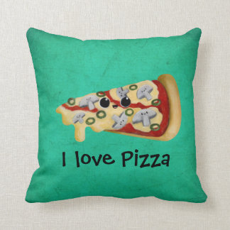 I love Pizza Cushion