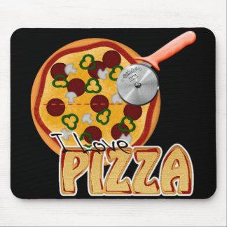 I Love Pizza - Mousepad