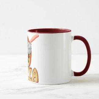 I Love Pizza - Ringer Mug