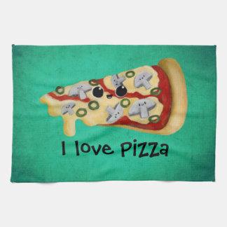I love Pizza Tea Towel