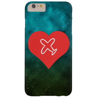 I Love Plane Drawings Barely There iPhone 6 Plus Case