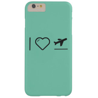 I Love Plane Takeoffs Barely There iPhone 6 Plus Case