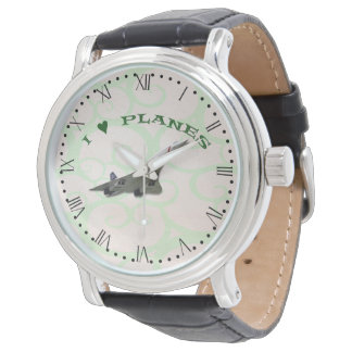 I Love Planes - Concorde - Roman Dial Watch