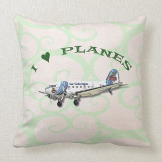 I Love Planes - Dakota DC3 Cushion