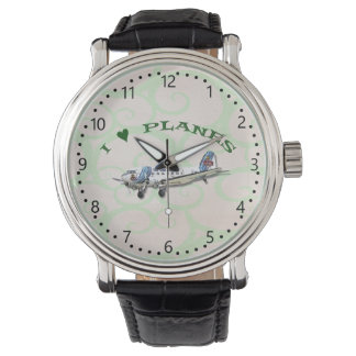 I Love Planes - Dakota DC3 Watch