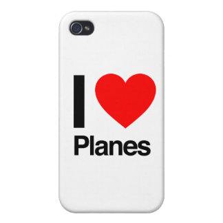 i love planes iPhone 4/4S cases