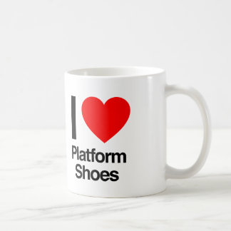 i love platform shoes coffee mugs