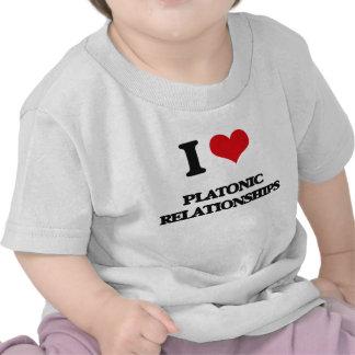 I Love Platonic Relationships Tshirt