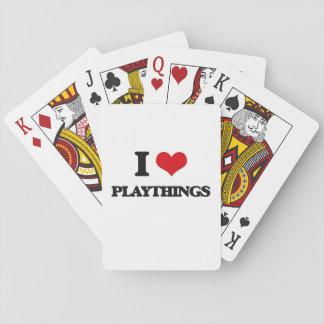 I Love Playthings Poker Deck