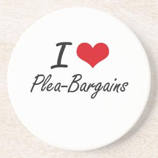 I Love Plea-Bargains Coaster