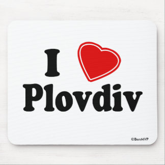 I Love Plovdiv Mouse Pad
