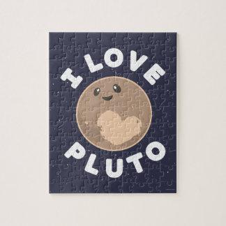 I Love Pluto Puzzle