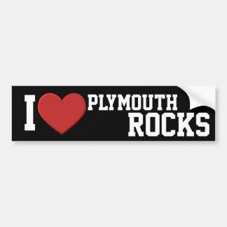 I love Plymouth Rocks Bumper Sticker