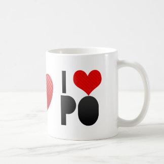 I Love PO Mug