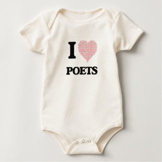 I love Poets (Heart made from words) Creeper