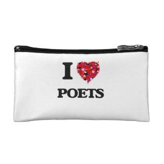 I love Poets Makeup Bag