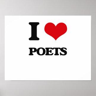 I Love Poets Poster