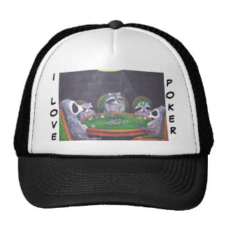 I Love Poker Hat