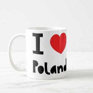 I love Poland Coffee Mug