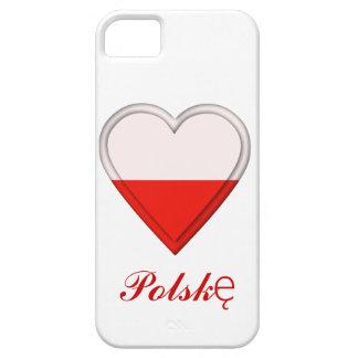 I love Poland - Kocham Polskę - in Polish iPhone 5 Cases