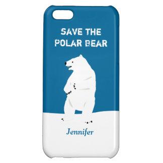 I Love Polar Bears - Save the Polar Bear Cover For iPhone 5C