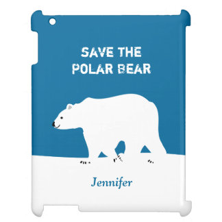 I Love Polar Bears - Save the Polar Bear iPad Cases